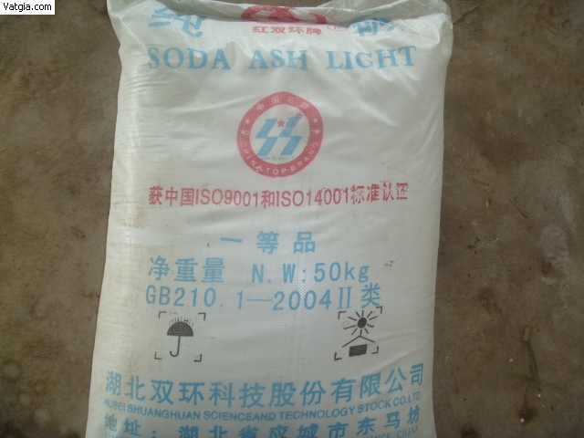 SODA ASH LIGHT (NA2CO3)